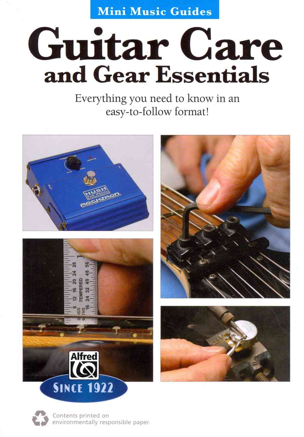 Guitar Repair & Maintenance By Carruthers, John
